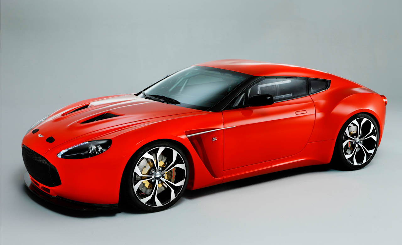 2011 Aston Martin V12 Zagato Racecar photo - 3