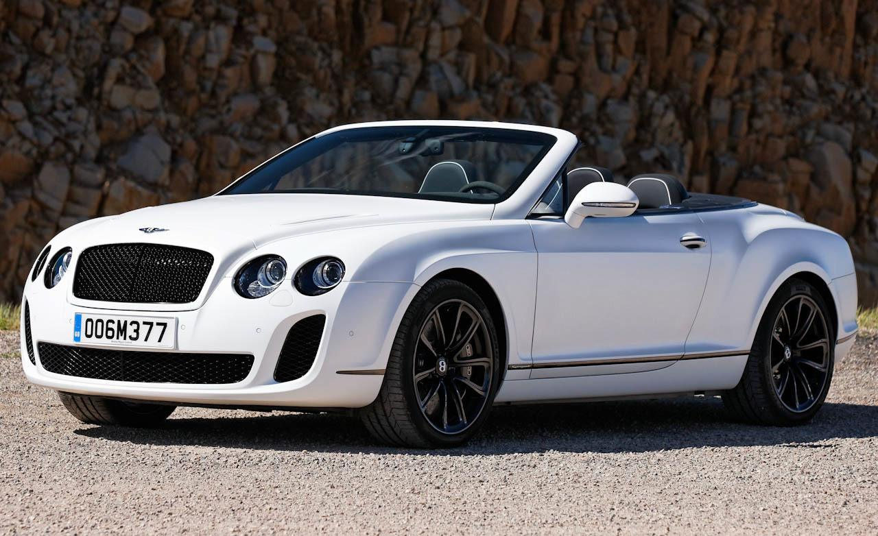 2011 Bentley Continental Supersports Convertible photo - 1
