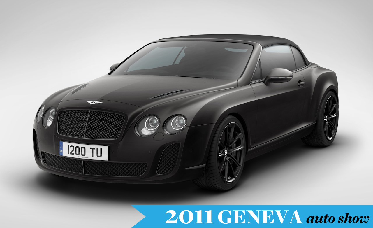 2011 Bentley Continental Supersports Convertible photo - 2