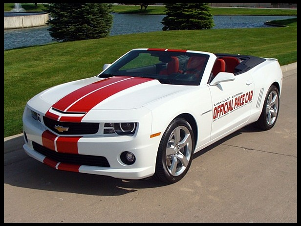2011 Chevrolet Camaro SS Convertible Indy 500 Pace Car photo - 2