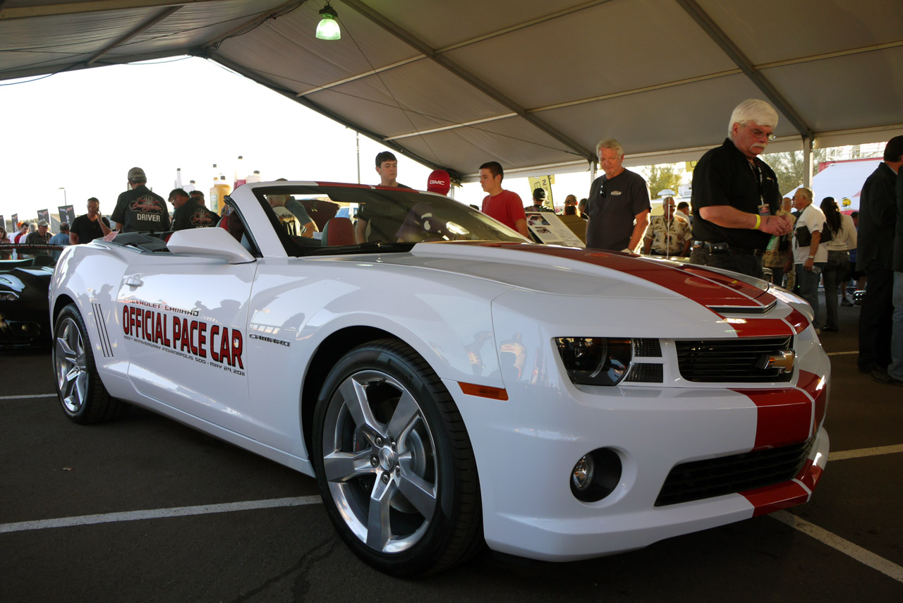 2011 Chevrolet Camaro SS Convertible Indy 500 Pace Car photo - 3