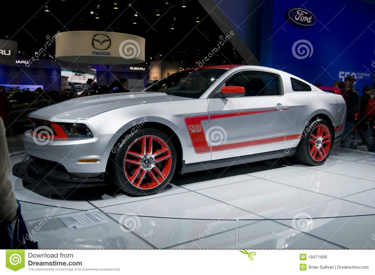 2011 Ford Mustang Boss 302R photo - 1