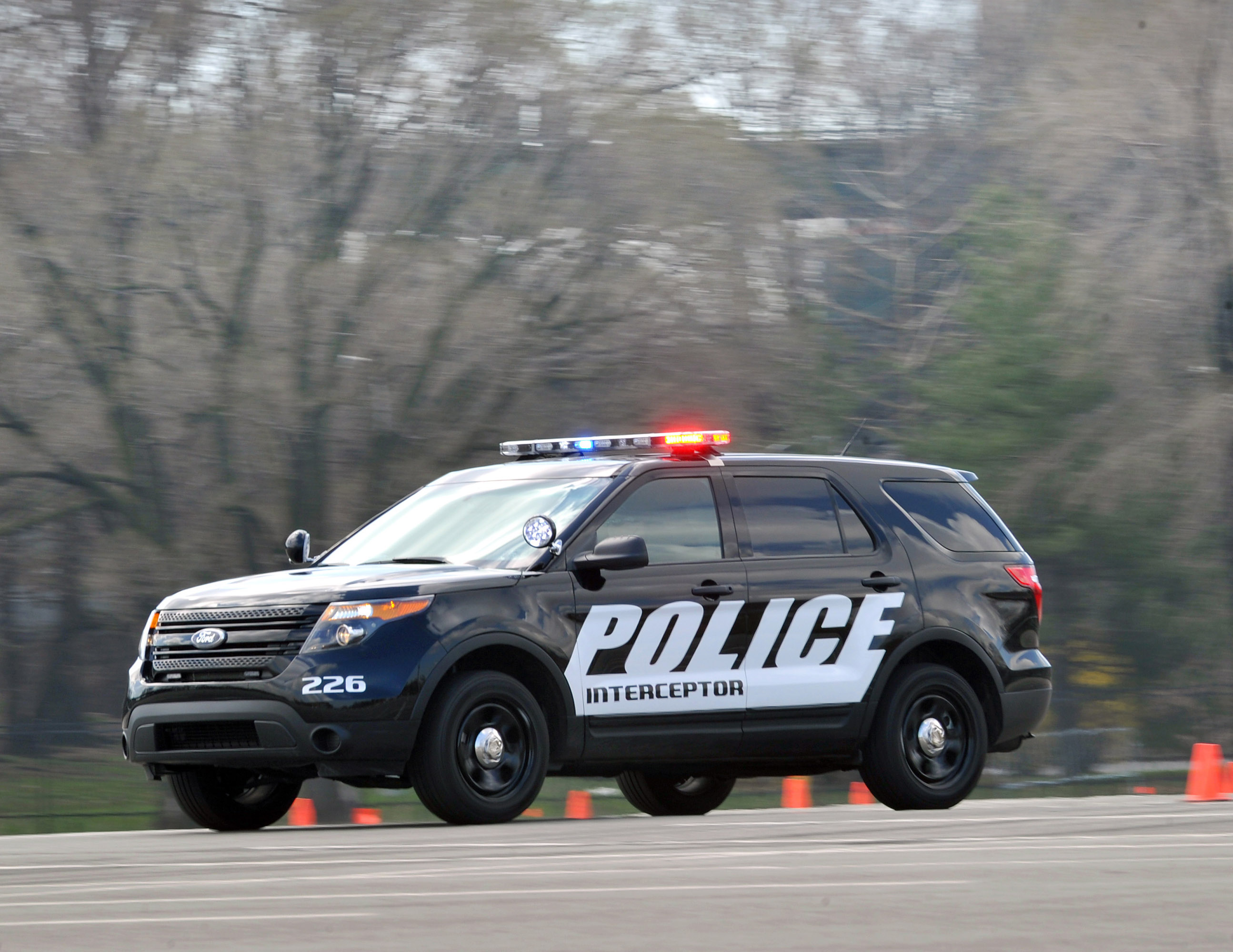 2011 Ford Police Interceptor Utility Vehicle photo - 1