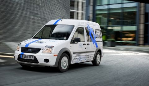 2011 Ford Transit Connect Electric photo - 1
