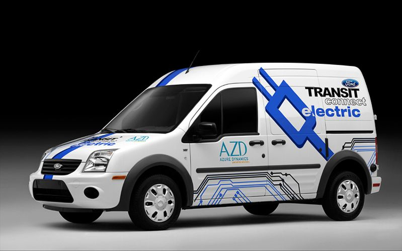 2011 Ford Transit Connect Electric photo - 3
