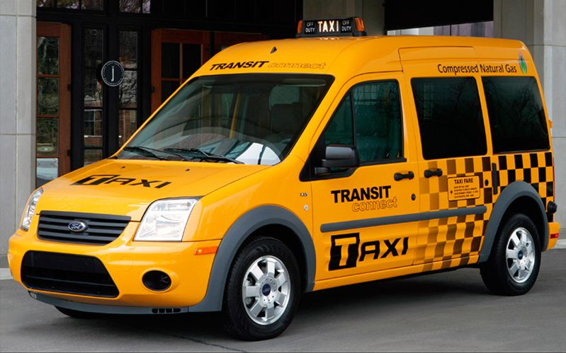 2011 Ford Transit Connect Taxi photo - 3