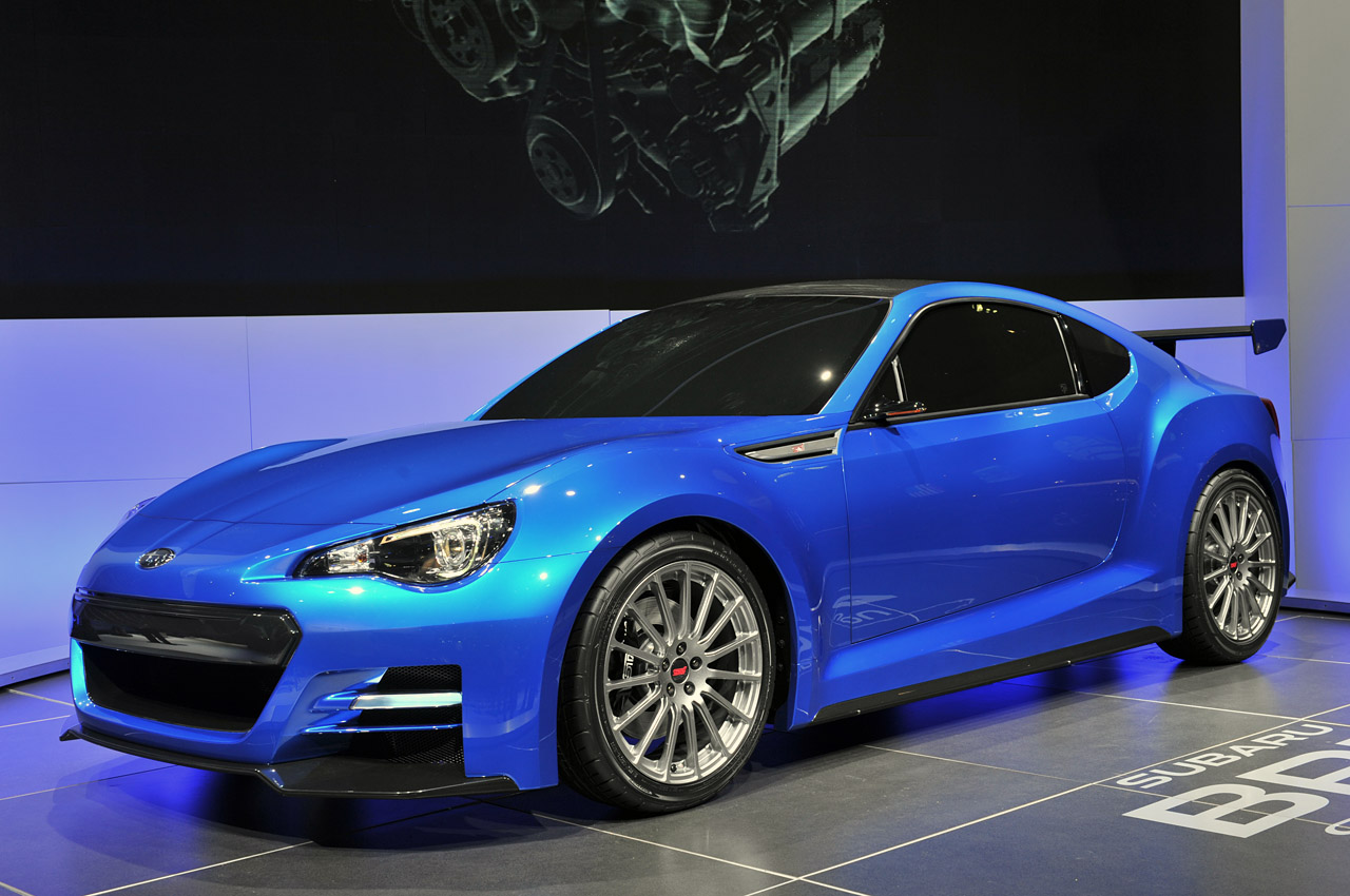 2011 Subaru BRZ STI Concept photo - 1