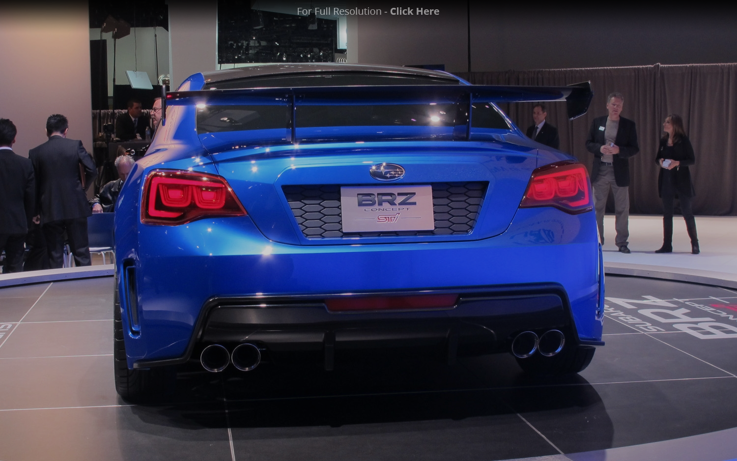 2011 Subaru BRZ STI Concept photo - 2