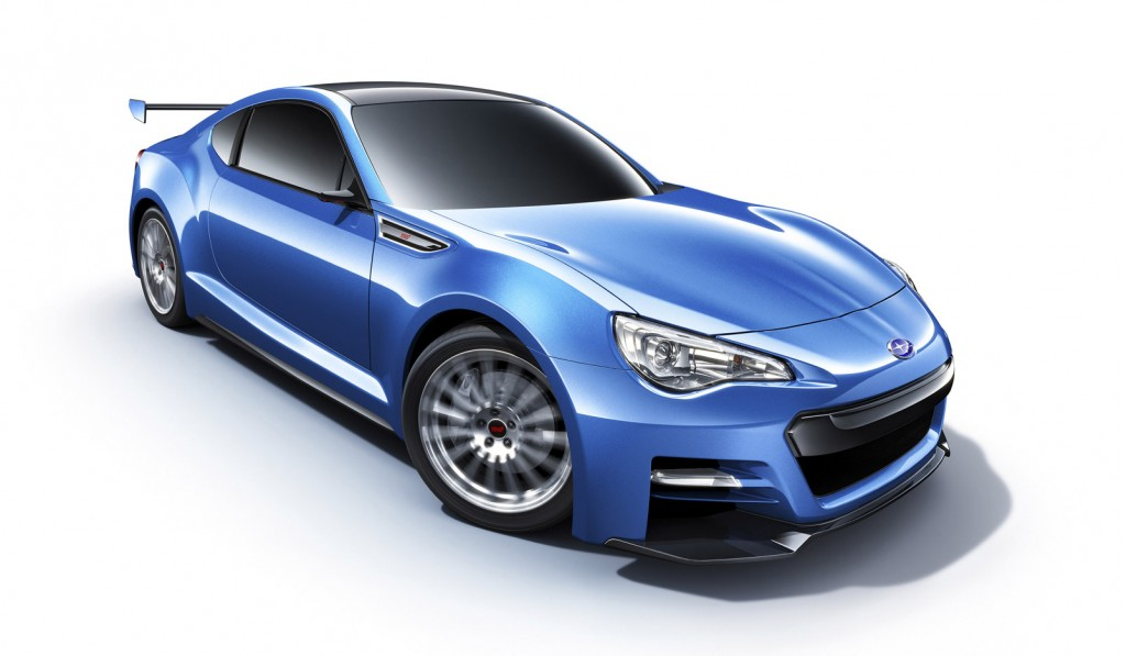 2011 Subaru BRZ STI Concept photo - 3