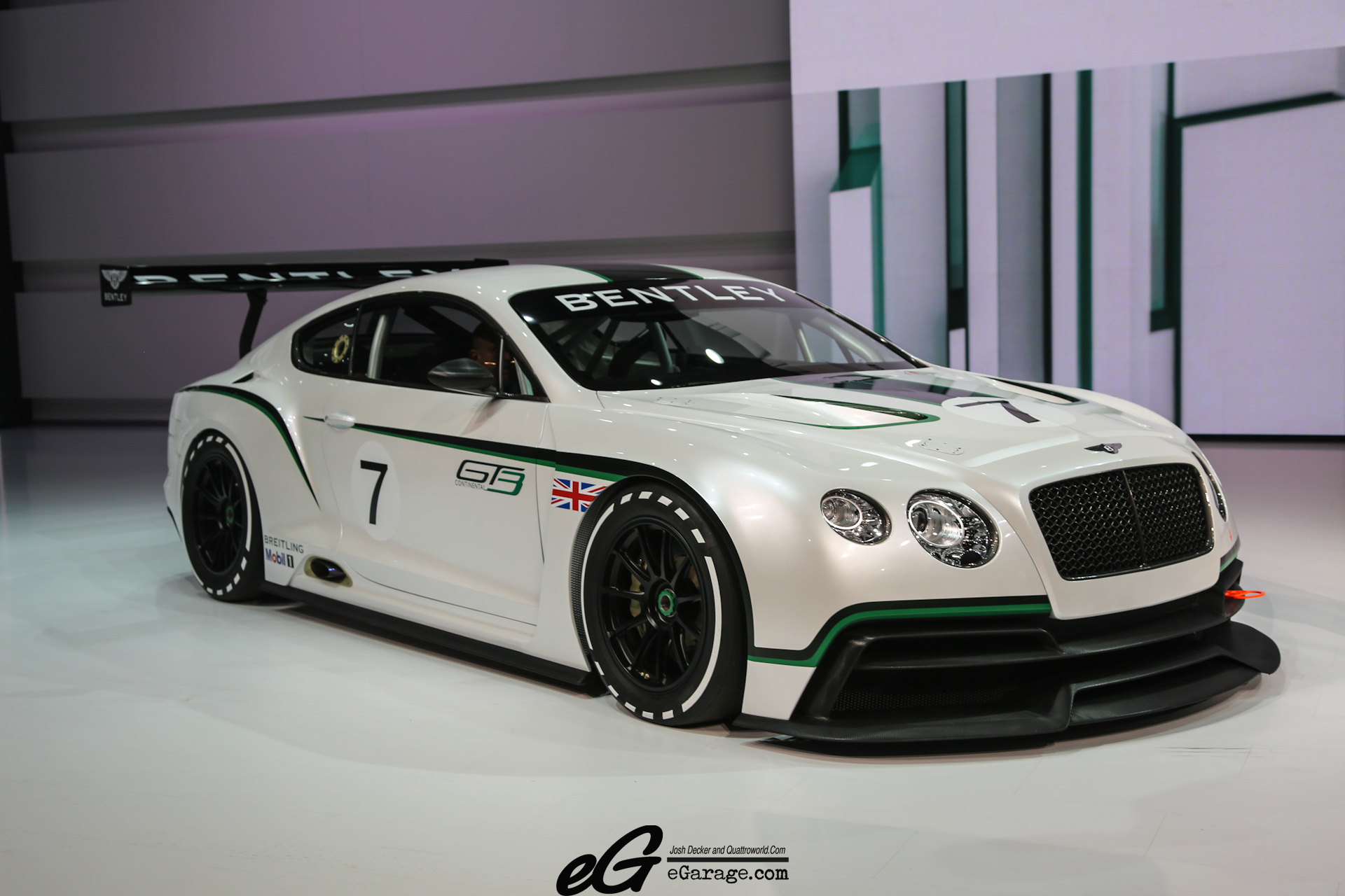2012 Bentley Continental GT3 Concept photo - 3