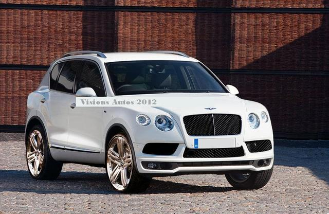 2012 Bentley EXP 9 F Concept photo - 1