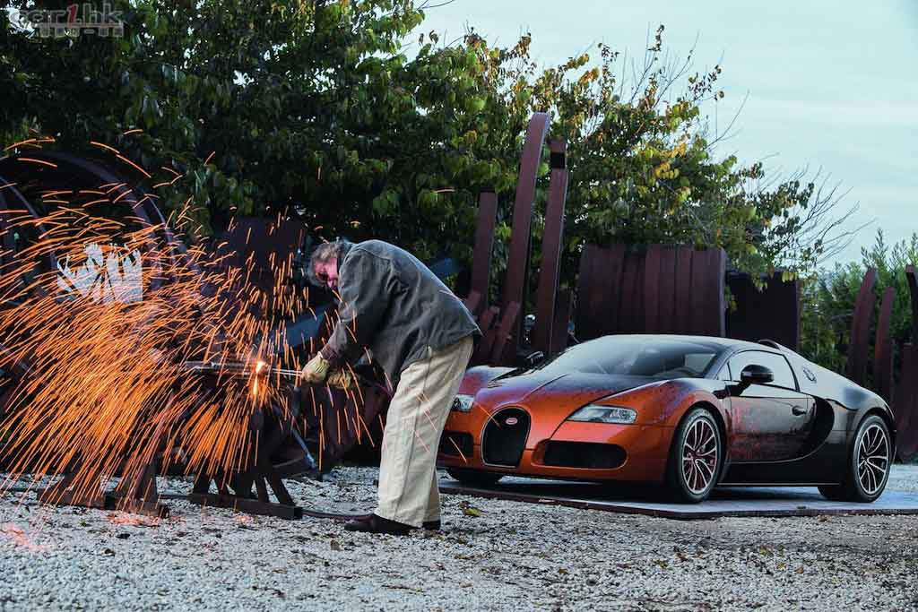 2012 Bugatti Veyron Grand Sport Bernar Venet photo - 1