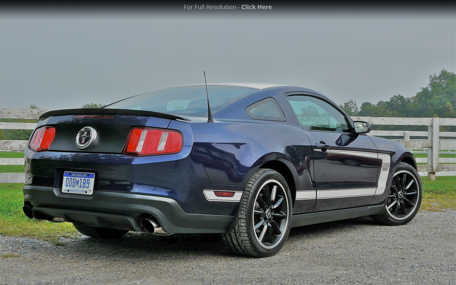 2012 Ford Mustang Boss 302 photo - 2