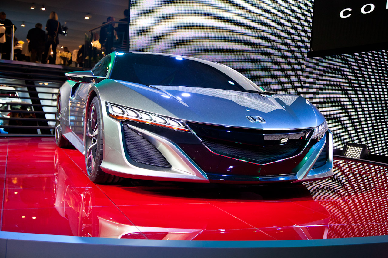 2012 Honda NSX Concept photo - 1