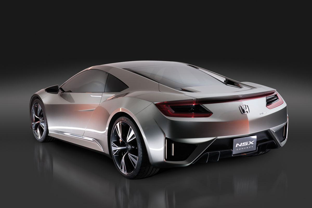2012 Honda NSX Concept photo - 2