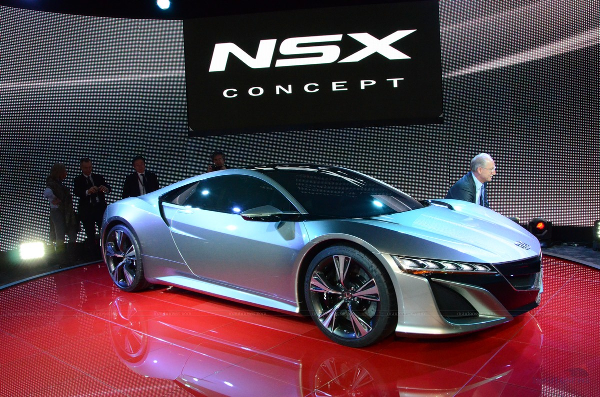 2012 Honda NSX Concept photo - 3