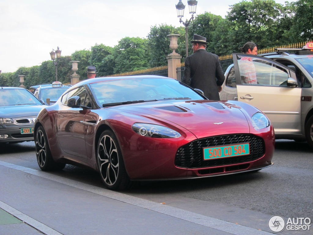2013 Aston Martin V12 Zagato photo - 2