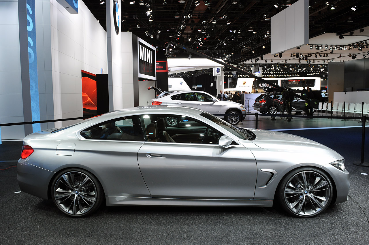 2013 BMW 4 Series Coupe Concept photo - 3
