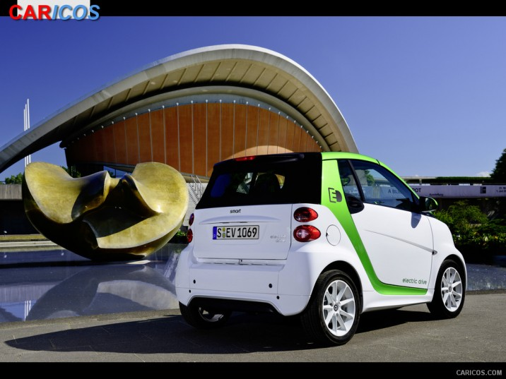 2013 Smart fortwo electric drive photo - 1