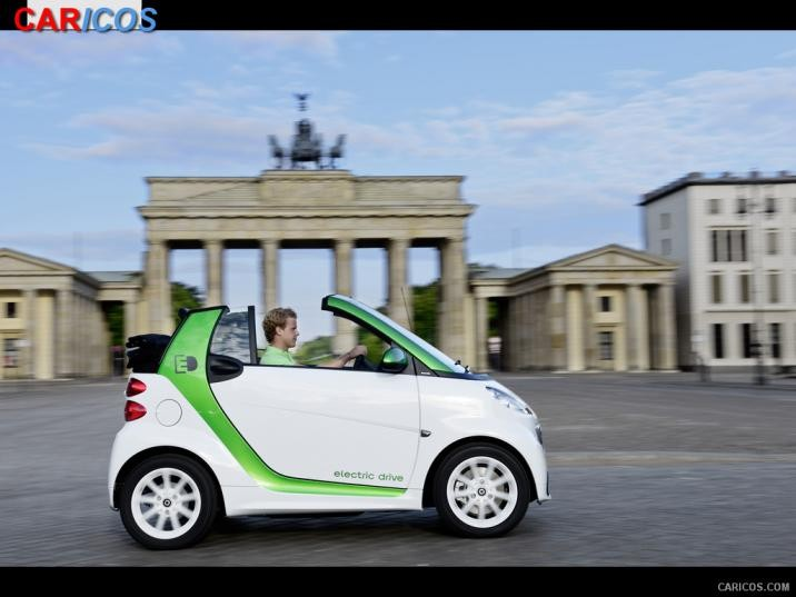 2013 Smart fortwo electric drive photo - 3