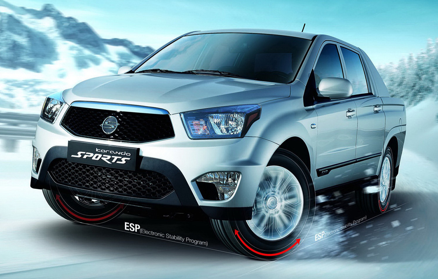 2013 SsangYong Actyon Sports photo - 3