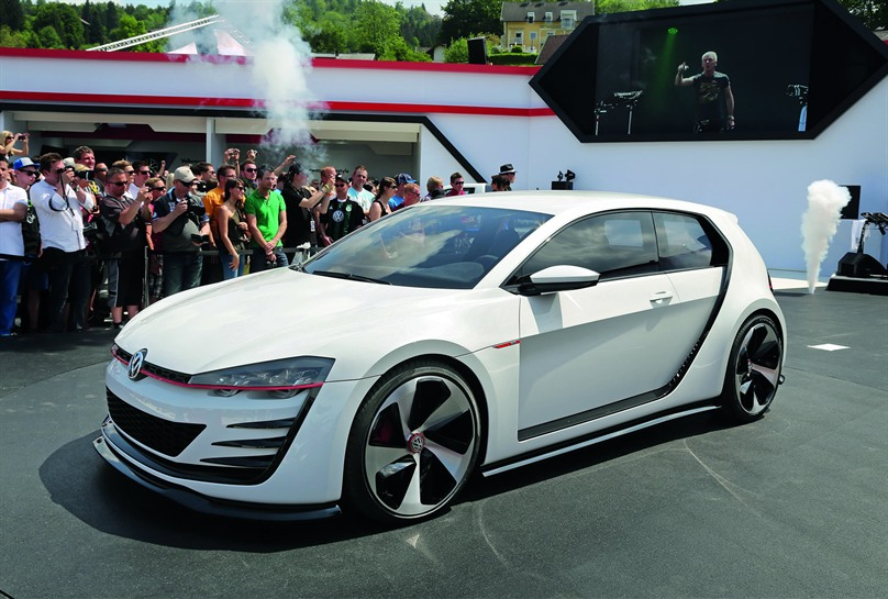 2013 Volkswagen Design Vision GTI Concept photo - 1