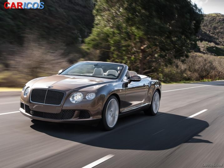 2014 Bentley Continental GT Speed Convertible photo - 2