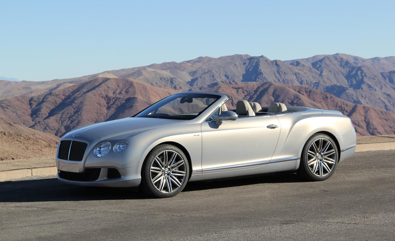 2014 Bentley Continental GT Speed Convertible photo - 3