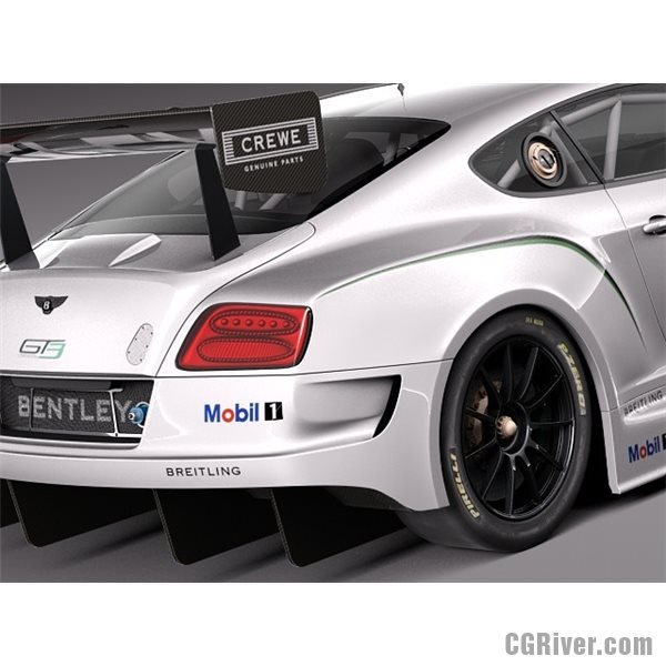 2014 Bentley Continental GT3 Racecar photo - 3