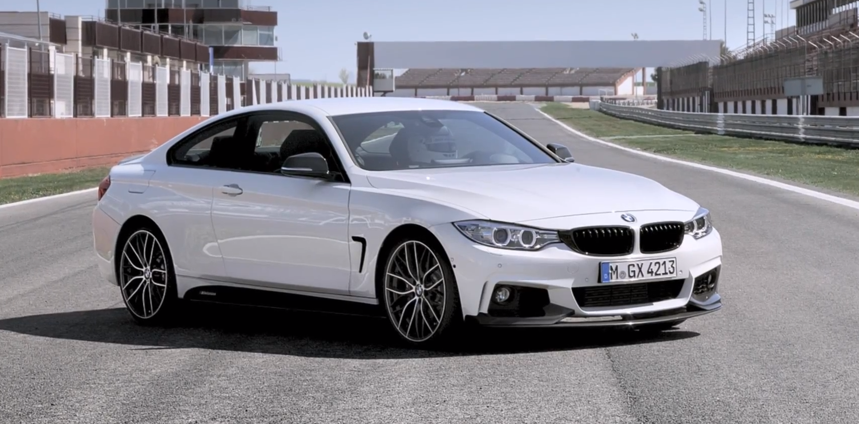2014 BMW 2 Series Coupe with M Performance Parts photo - 1