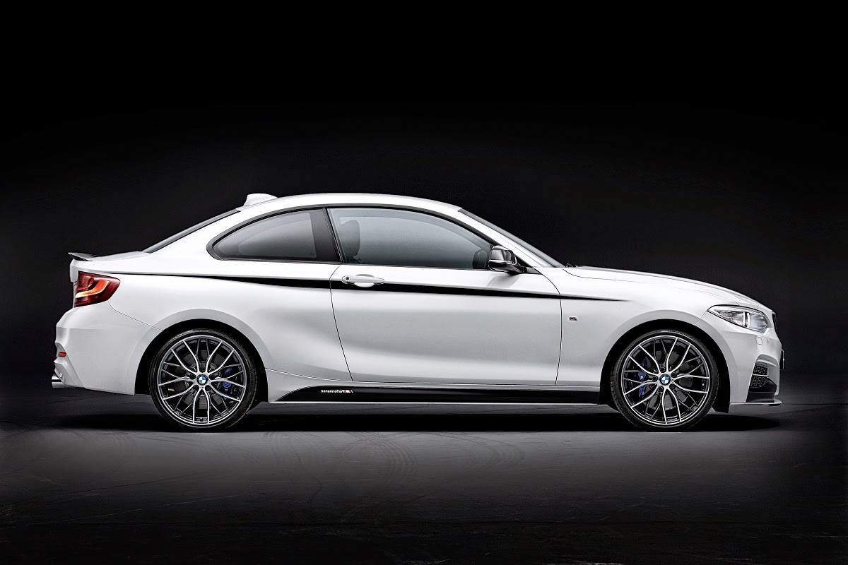 2014 BMW 2 Series Coupe with M Performance Parts photo - 3