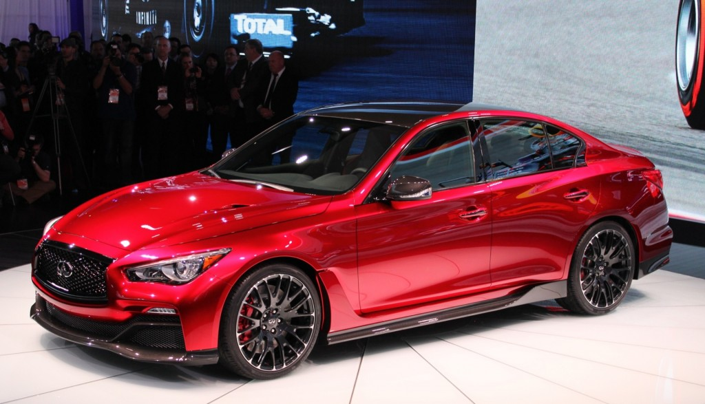 2014 Infiniti Q50 Eau Rouge Concept photo - 1