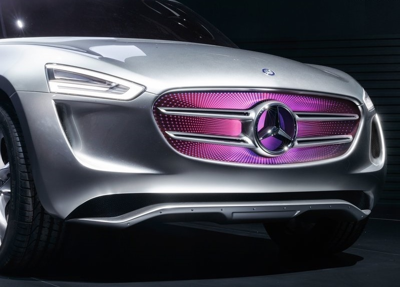 2014 Mercedes Benz Vision G Code Concept photo - 1