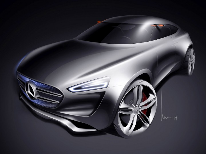 2014 Mercedes Benz Vision G Code Concept photo - 3