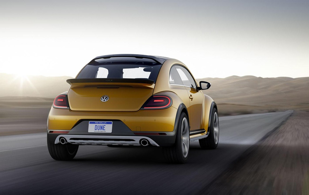 2014 Volkswagen Beetle Dune Concept photo - 3