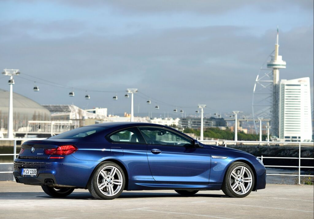 2015 BMW 6 Series Coupe photo - 3