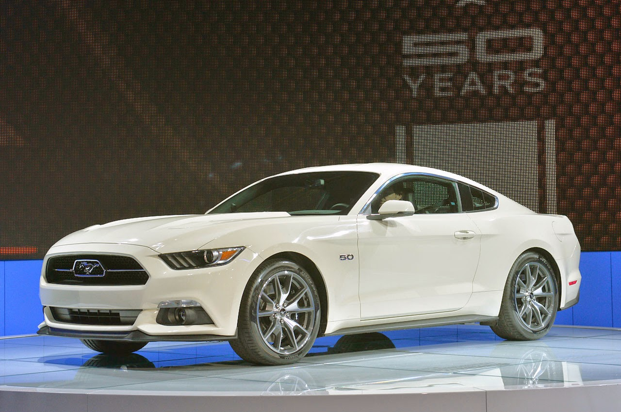 2015 Ford Mustang 50 Year Limited Edition photo - 1