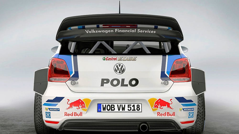 2015 Volkswagen Polo R WRC Racecar photo - 2