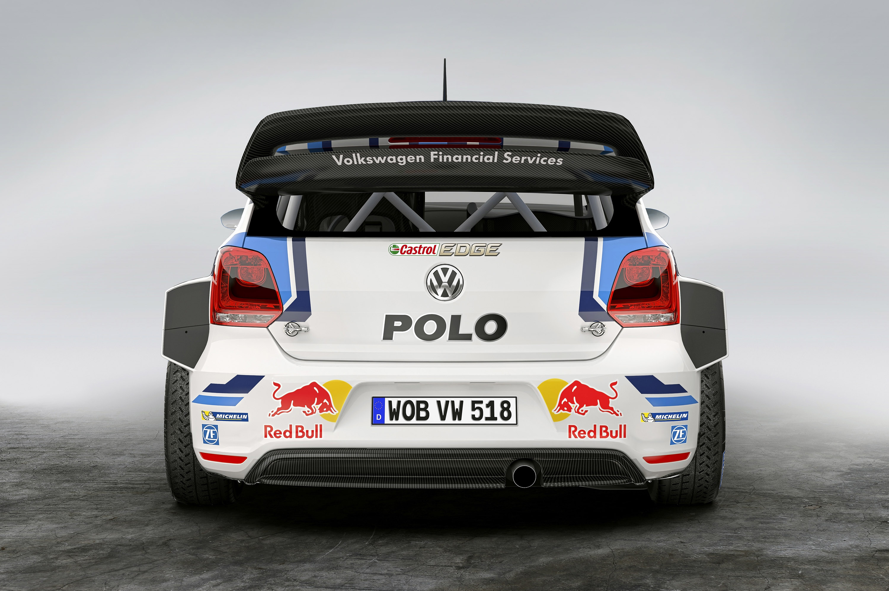 2015 Volkswagen Polo R WRC Racecar photo - 3