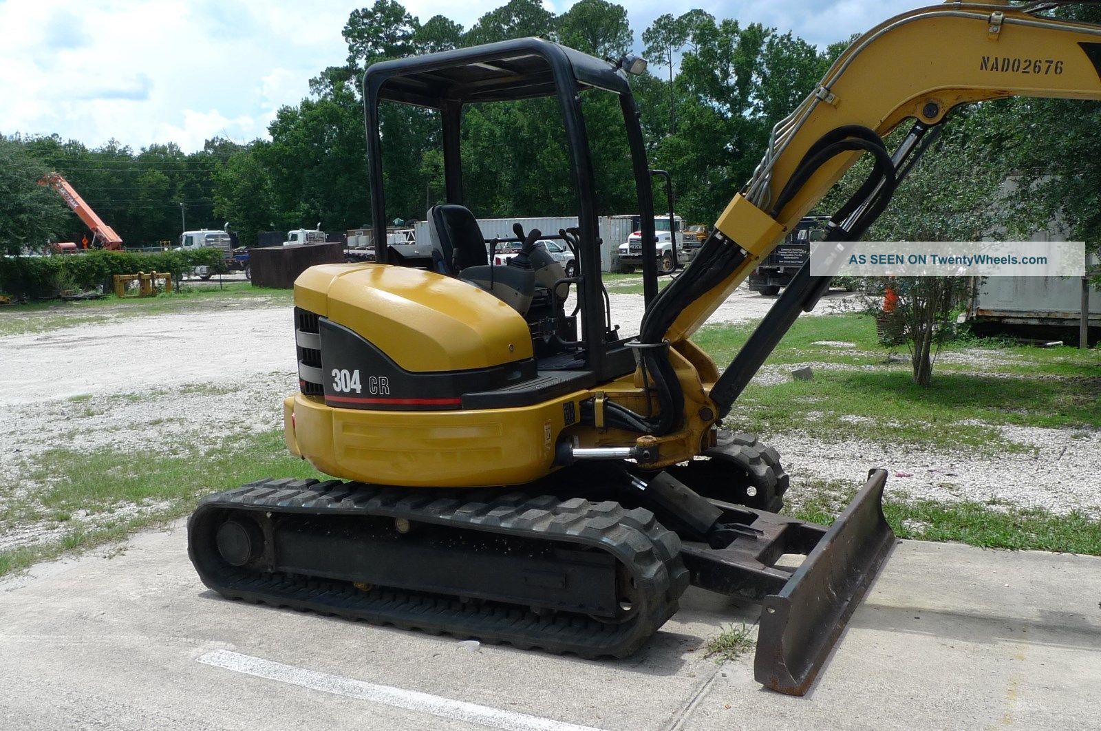 2016 Caterpillar 308c photo - 1