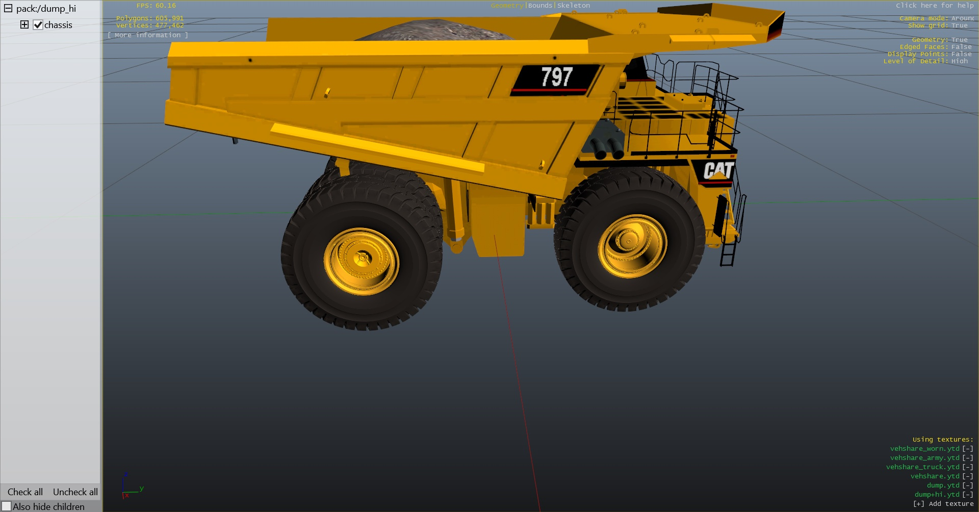 2016 Caterpillar 797 photo - 3