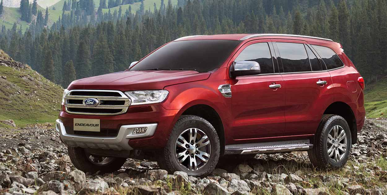 2016 Ford endeavour photo - 1