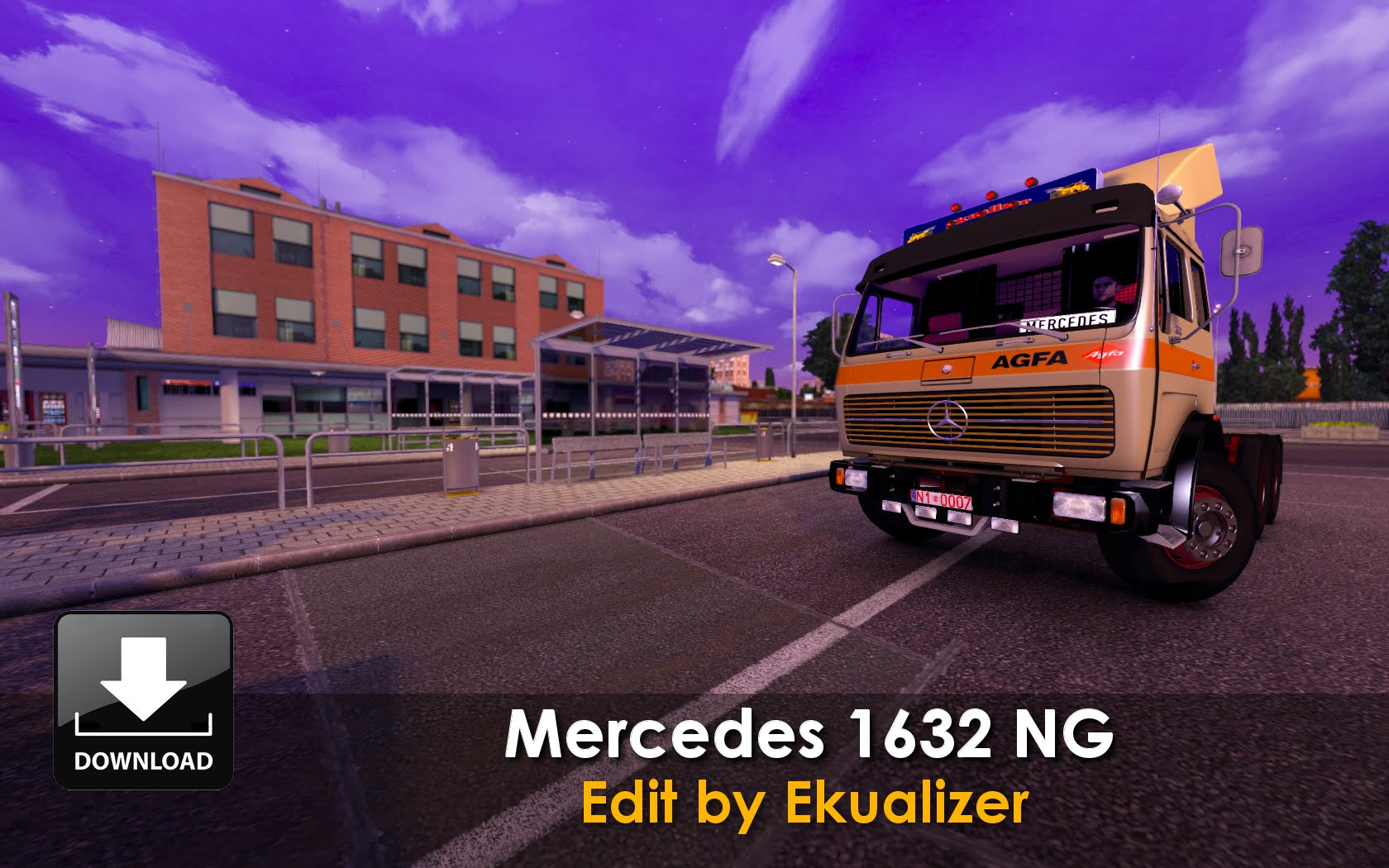 2016 Mercedes benz 1632 photo - 1