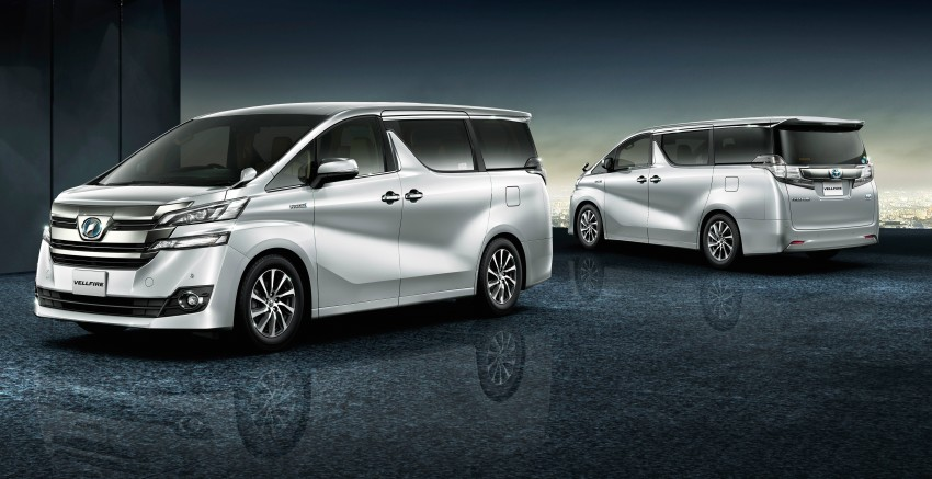 2016 Toyota vellfire photo - 2