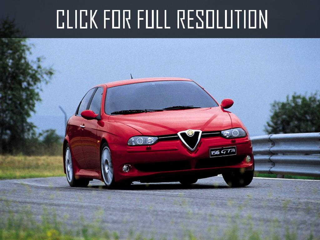 2017 Alfa Romeo 156 photo - 3