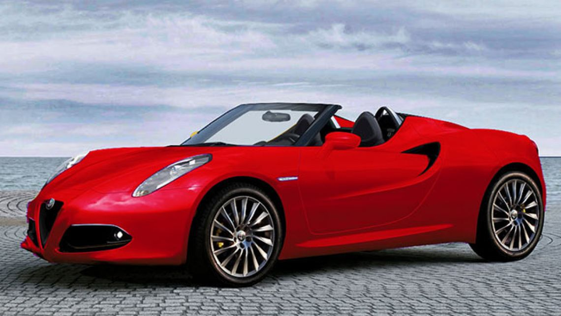 2017 Alfa Romeo 4C Spider Concept photo - 2