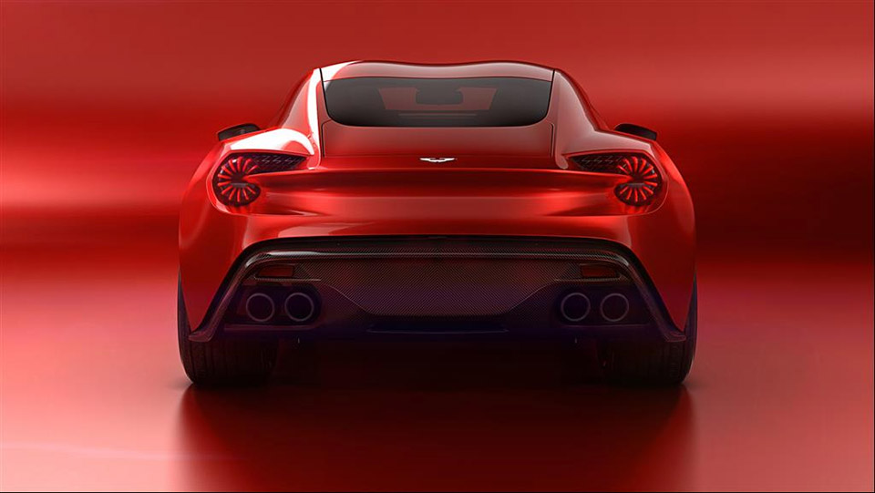 2017 Aston Martin V12 Zagato photo - 3