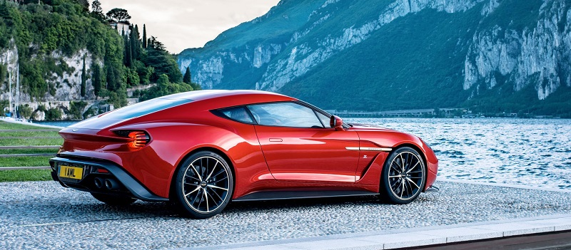 2017 Aston Martin V12 Zagato Concept photo - 4