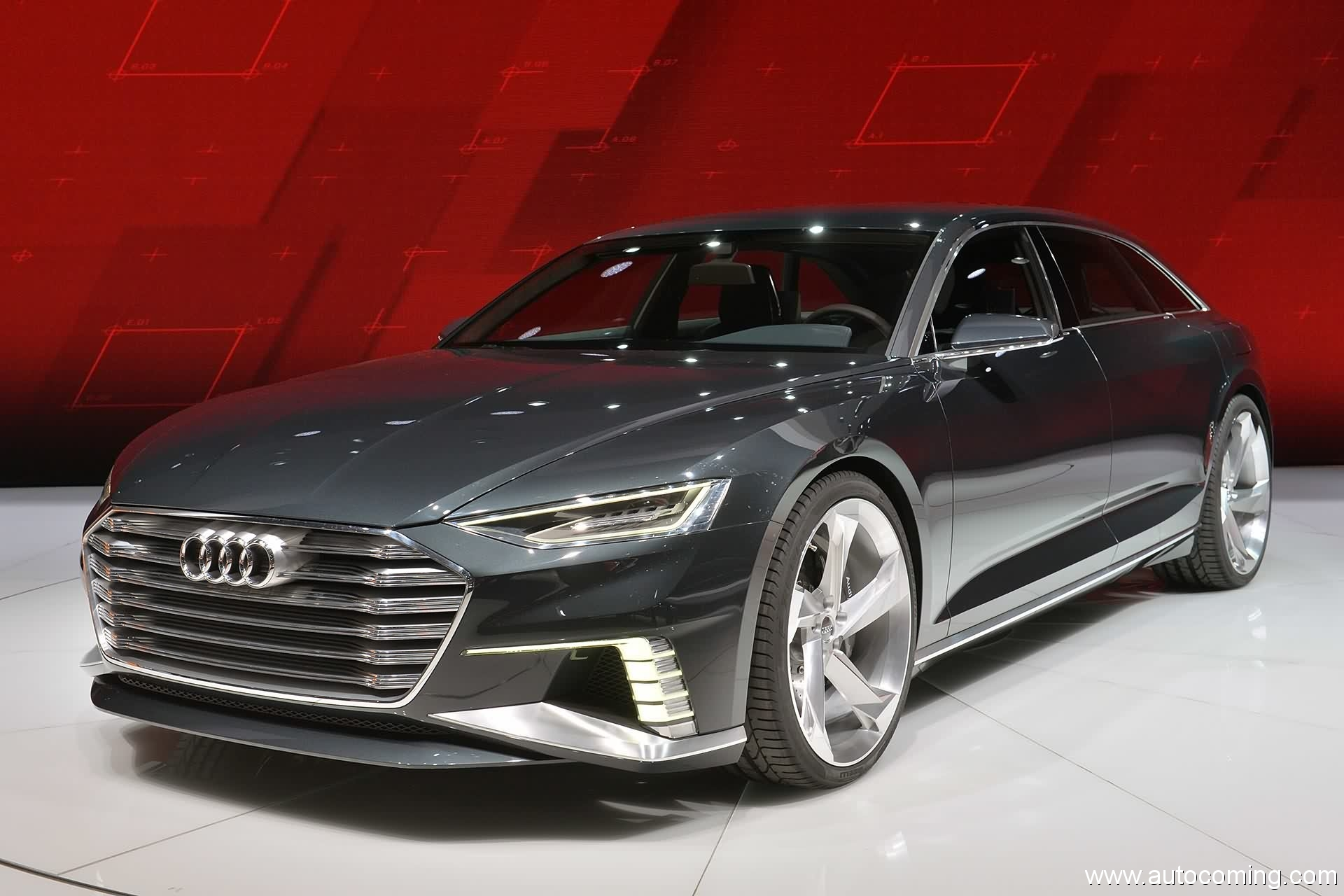 2017 Audi Prologue Avant Concept photo - 2