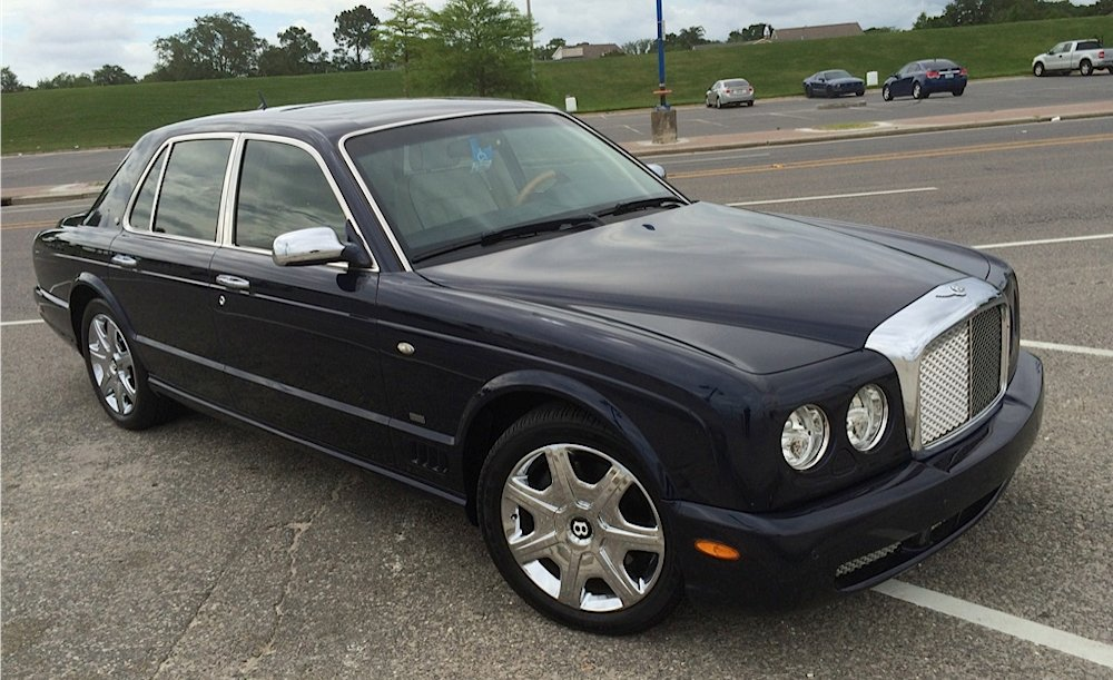 2017 Bentley Arnage Blue Train Series photo - 4